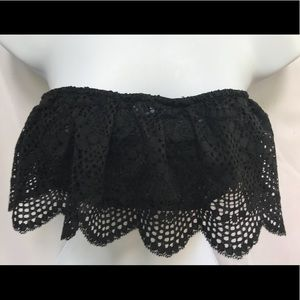 102af8b8b ... NWT Scallop Lace Victoria s Secret Black Bralette New ...